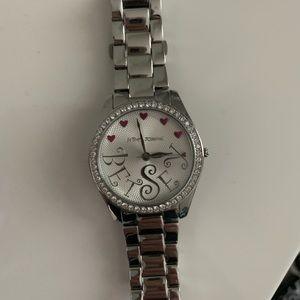 Betsey Johnson bracelet watch